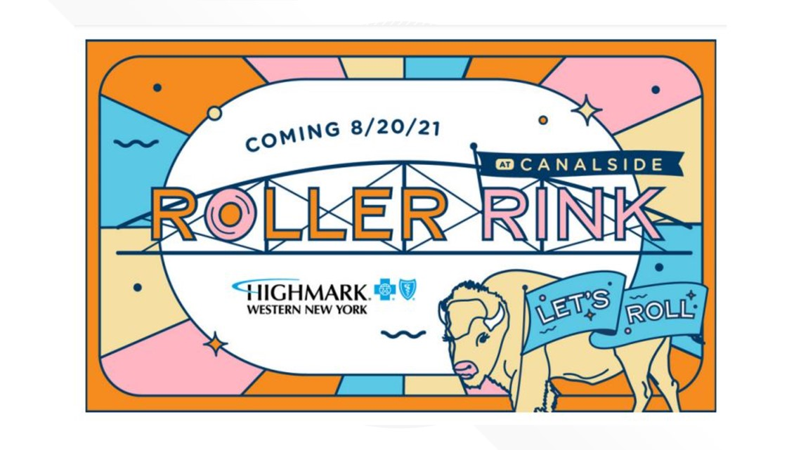Canalside announces temporary roller rink as new fall attraction