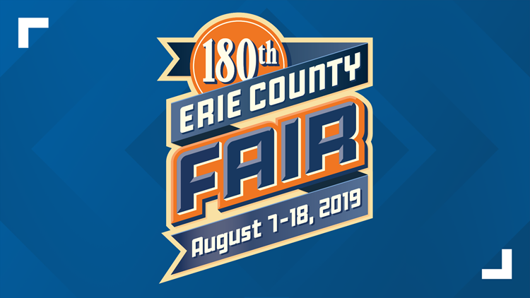 Erie County Fair  Aug 7th - 18th