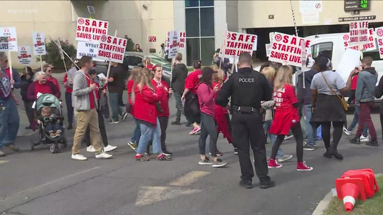 Day 19 of strike at Mercy hospital