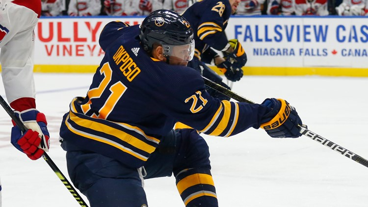 Sabres Okposo out indefinitely with concussion