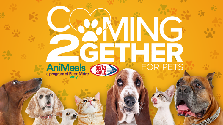Coming 2Gether for Pets; help feed WNY animals