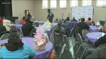 Western New York organizations speak out against domestic violence