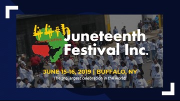 Juneteenth Festival of Buffalo - June 15th & 16th