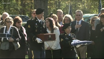 Korean Soldier returns to WNY; Laid to Rest