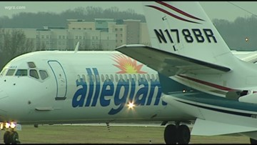 Allegiant Airlines to start non-stop flights from Niagara Falls to Georgia