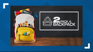 2 Pack A Backpack: August 16