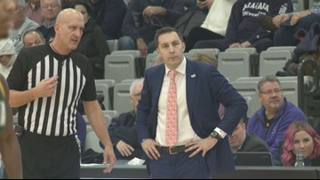 Griffs, Purple Eagles lose on the road