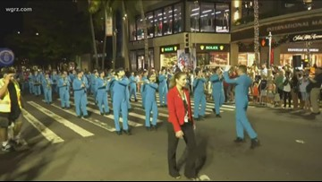 Lancaster band marches in Pearl Harbor Memorial Parade