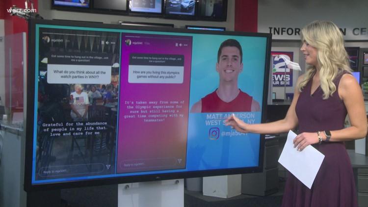 WNY Olympians share Tokyo on social media