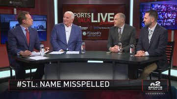 Sports Talk Live: Sabres alum Robitaille on his name being misspelled on his jersey