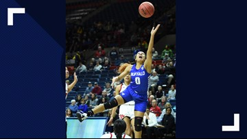 UB women defeat Rutgers to Advance to Second Round of NCAA Tournament