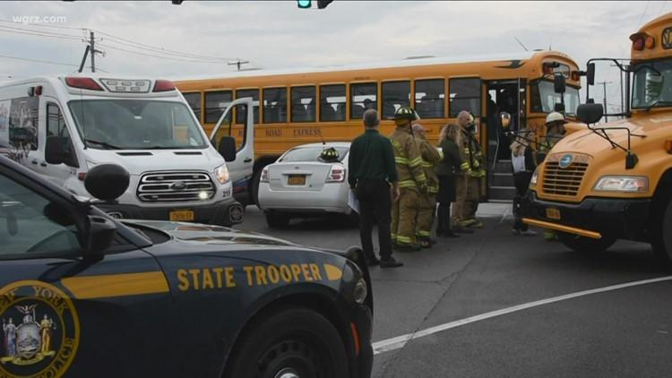 Crash Involving School Bus This Morning