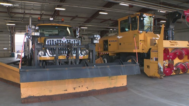 NYSDOT Gets Ready For Winter Weather