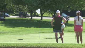 Jack Rogowicz wins the women's Porter Cup in a one hole playoff.