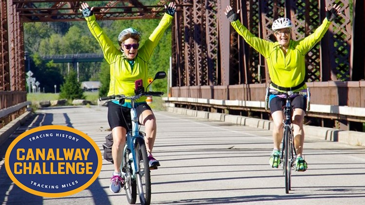 Canalway Challenge encourages New Yorkers to enjoy outdoors along canals, trails