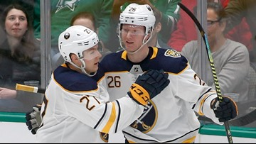 Workmanlike effort leads Sabres to win over Stars