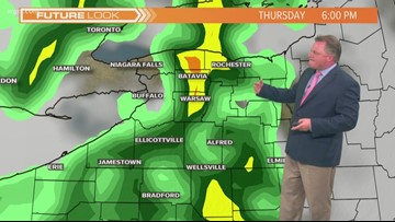 Storm Team @ Patrick Hammer Has Your Midday Forecast For June 11, 2019