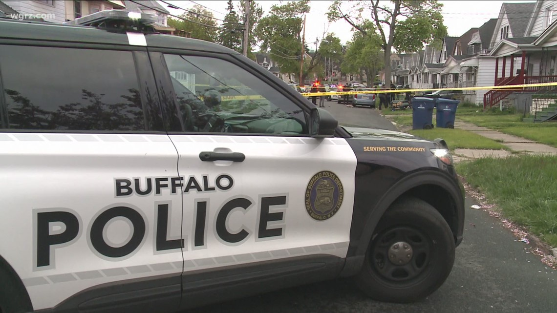 Incident on Buffalo's Theodore Street