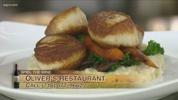 Kevin is at Oliver's Restaurant to discuss the Spring Menu