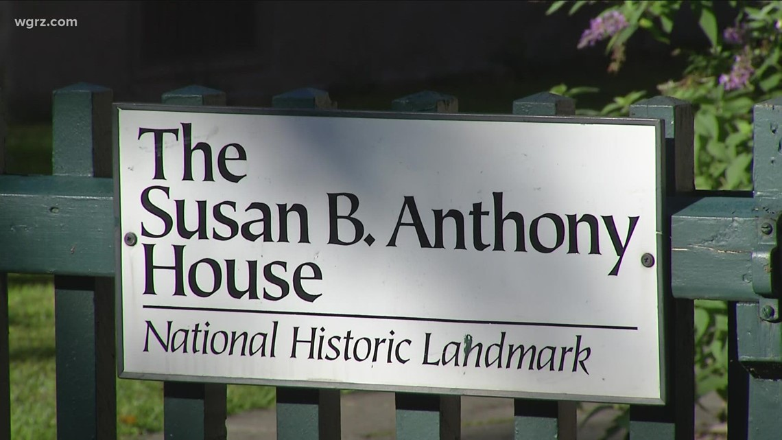 Fire at Susan B. Anthony home