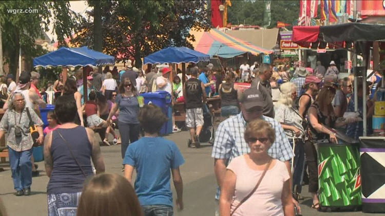 Consultant's report says the Erie County Fair is safe to hold