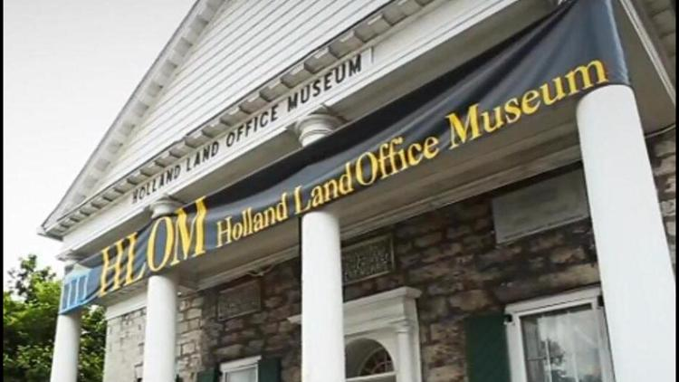 Birthplace of WNY: Holland Land Office in Batavia