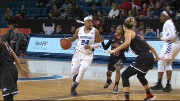 UB Women Pull Away from NIU for Sixth Straight, 93-64