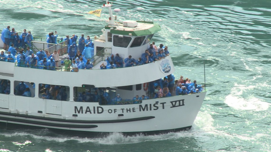 Concerns Arise Over Photos Of Maid Of The Mist Tours Wgrz Com