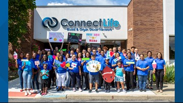 70 pints of blood donated during 4-hour event at ConnectLife