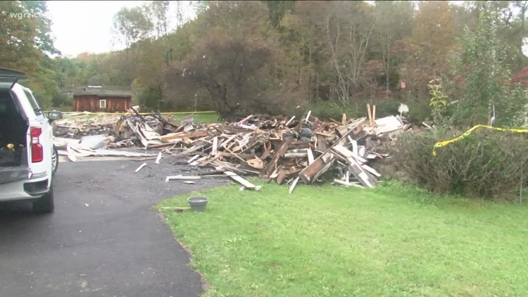 Deadly House Explosion In Southern Tier