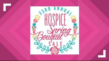 33rd Annual Hospice Spring Bouquet Sale