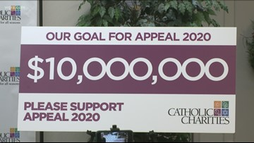 New $10 M Goal For 2020 Catholic Charities