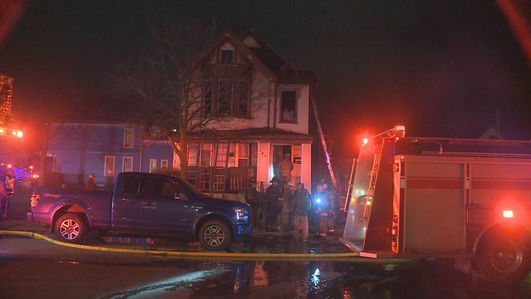Buffalo teen rescued from house fire