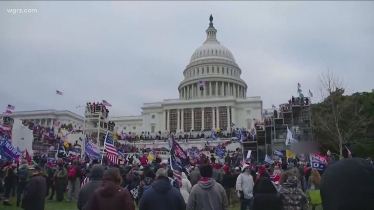 Capitol riot arrests: Erie County a dubious national leader
