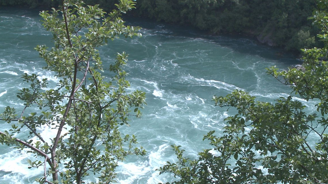 U.S. Border Patrol arrest people illegally crossing the Niagara River