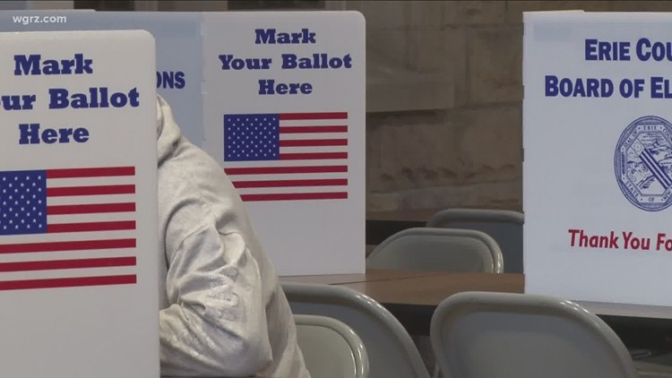 Sunday is last day of early voting before primary election; Over 7,000 ballots cast in Erie County so far