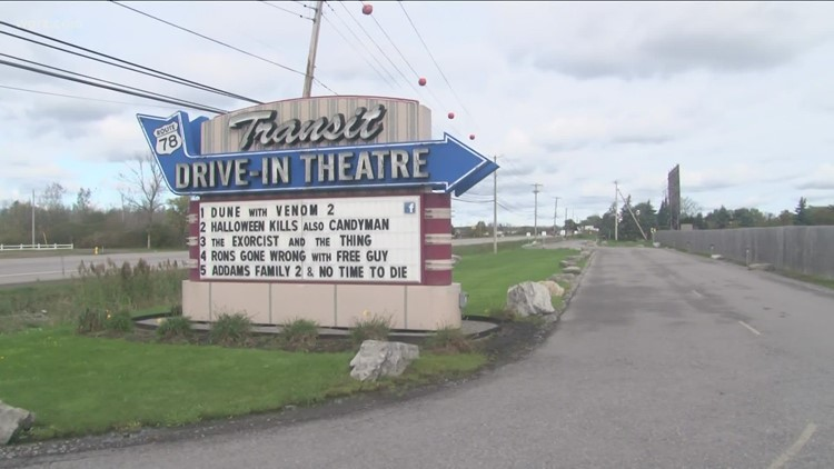 Watch Party for Buffalo Bills and The Voice at Transit Drive-In