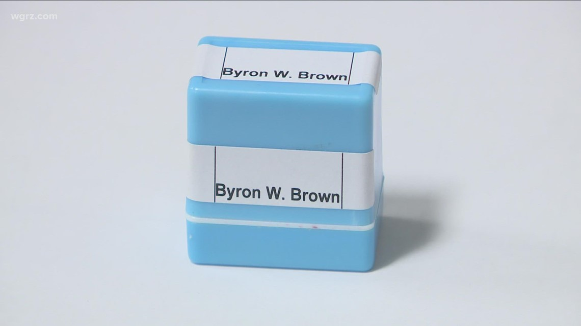 Mayor Brown's campaign orders 'large amount' of stamps for election day