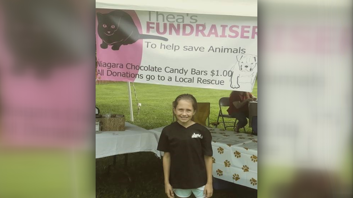 WNY's Great Kids: Blasdell girl raises money to rescue animals