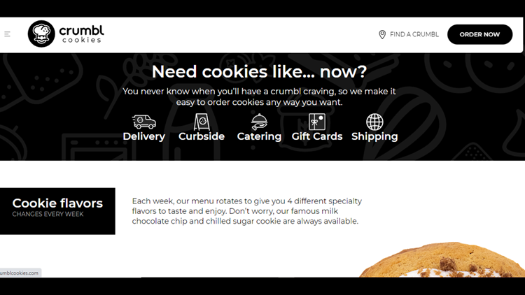 Cookie delivery chain Crumbl to open first NYS location in Amherst