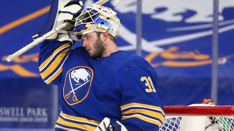 Sabres netminder Tokarski named NHL's First Star of the Week