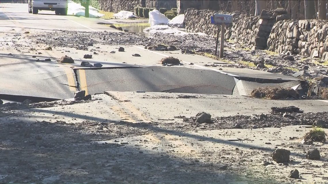 Water main break causes problem in the Southtowns