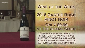 Kevin's Wine of the Week is the 2016 Castle Rock Pinot Noir