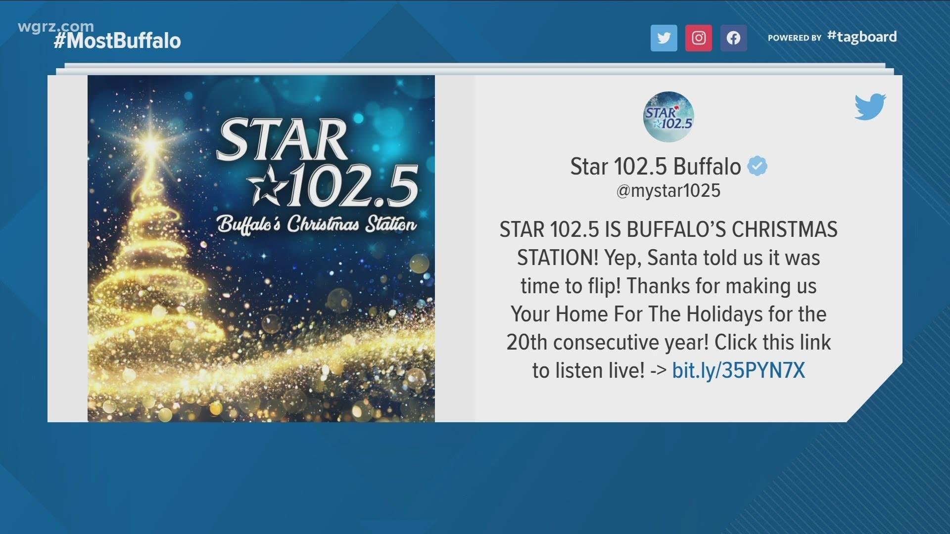 Christmas Music 88.5 Radio Stations 2020 Star 102.5 now playing Christmas music | wgrz.com
