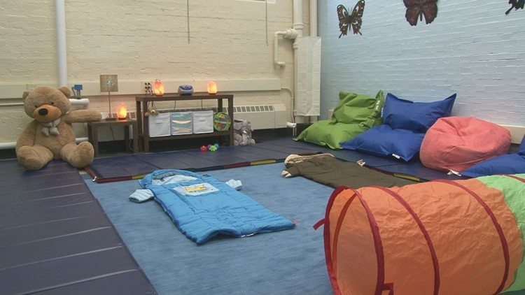 Buffalo school unveils calming room for students