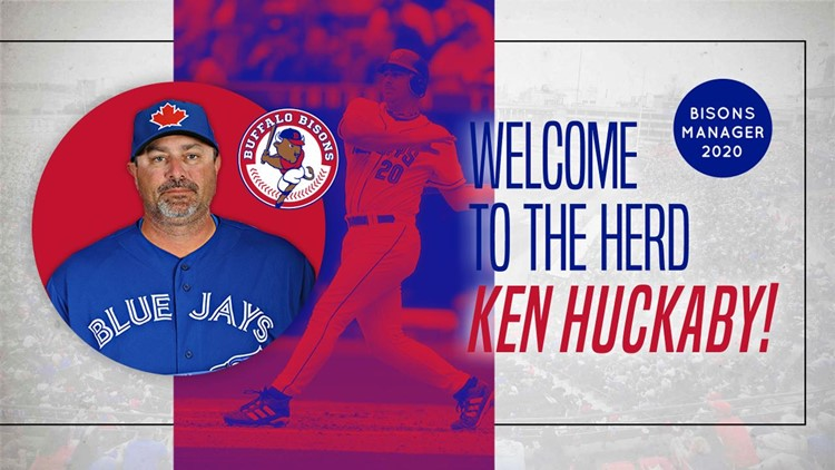 Blue Jays name Ken Huckaby to manage Bisons in 2020
