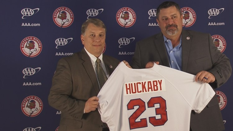 Buffalo, meet Ken Huckaby, the Bisons' new manager