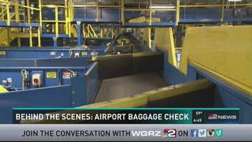 Behind the scenes: Airport baggage screening