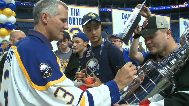 Sabres celebrate 50th season by looking back with Fan Fest