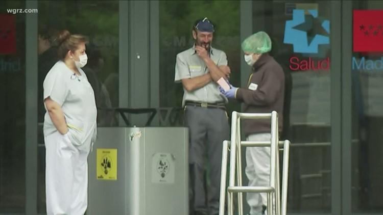 Buffalo woman living, working in Spain amid coronavirus pandemic